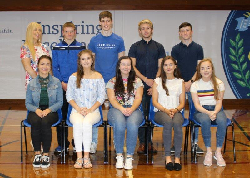 Top achieving A Level students 2018